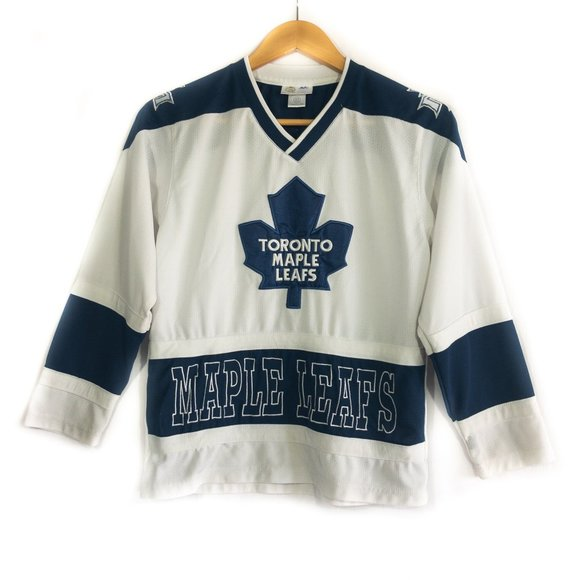 Toronto Maple Leafs Boys White Hockey Jersey